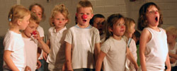 Ateliers réguliers (théâtre, impro, clown) à l'école de clown